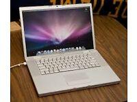 "Apple Macbook White 13"" 2.4 Hz Intel Core 2 Duo"