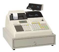 cash register program prices $450 with case of printer paper rol