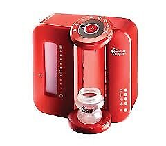 Red Tommee Tippee Perfect Prep Machine