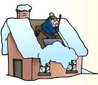 ROOF SNOW REMOVAL !!!