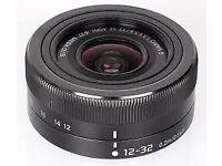 Panasonic 12-32mm Lens f3.5 - mk2. IOS stabalization m43