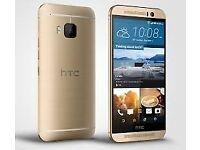 Sim Free HTC ONE M9 Gold 32GB