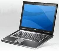 laptop dell D820 C2D 2GB 80GB combo webcam  win7 129$