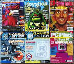 Old Computer/Gaming Magazines (90's)