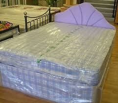 Brand New Double Bed set Free Delivery Factory Sealed