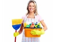 Female cleaner available