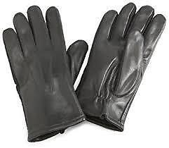 Isotoner Men's Stretch Leather Glove medium
