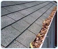 Eavestrough cleaning repairs soffit and fascia installs