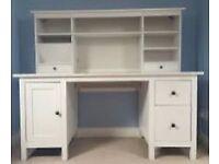 White Hemnes ikea desk wanted