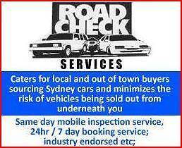 ROAD CHECK $190 Mobile Prepurchase & Car Warranty Inspections Wollongong Wollongong Area Preview