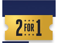 2 for 1 code on any Cinema ticket **TODAY 1st February**