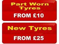 New and QUALITY Part Worn Tyres