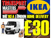 £30 IKEA WEMBLEY MAN AND VAN DELIVERY TOTTENHAM CROYDON SOFA BED KIVIK WARDROBE MALM DINING TABLE 6 London Removals/deliveries 8am-10pm Mon-sun