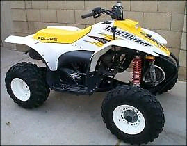 Looking for Polaris atvs that need work.