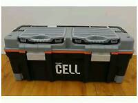 Here I have brand new in box 7x HOLDON cell 26in Pro Self Closing Tool Boxes