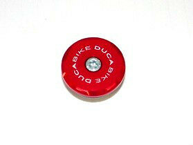 DUCABIKE Left Front Wheel Cap TRS01A - Red - New