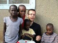 Cultural exchange and teaching orphans in Kenya