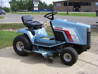 Yamaha riding lawnmower
