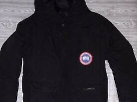 Genuine Canada Goose Mens Winter Jacket /Explorer/ -Size M/ Black