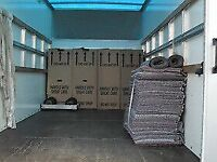 MAN AND VAN HOUSE REMOVLS &CLEARANCES LOCAL AND LONG DISTANCE LARGE LUTONVAN WITH TAILLIFT ANYTIME