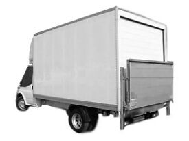 MAN AND LUTON VAN WITH TAIL LIFT £25 PER HOUR 07871678234 REMOVAL SERVICES