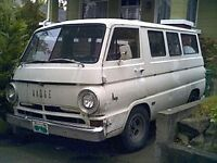 Wanted - old 1960s Van (Dodge A100, Ford Econoline, etc)