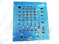 Citronic DJ Mixer PRO 10 4 channel, and sampler