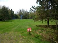 cleared one acre lot