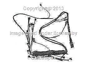 Mercedes W124 Wiring Harness