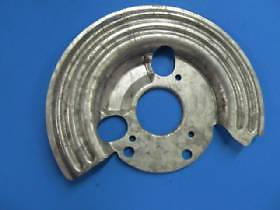 MOPAR Left Disc Brake Splash / Dust Shield 3580827. 1973-74 B, E Sarnia Sarnia Area image 5