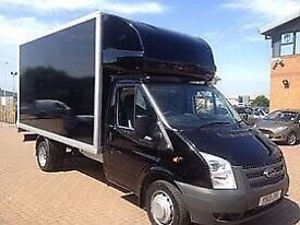 SHORT NOTICE MAN AND VAN NATIONAL AND INTERNATIONAL MOVERS SPECIAL OFFER LARGE LUTON VAN 24/7