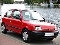 NISSAN MICRA FROM 1997 WANTED
