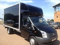 24/7 Superb Removal Man With Van From £15/H. Hire Luton Tail Lift Van/ 7.5 Tonne Lorries