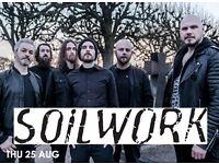 Soilwork gig tickets - 25 Aug Underworld Camden