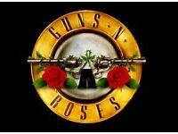2 Guns N Roses ickets for sale for Slane Castle