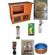 Rabbit Double Storey Hutch Starter Pack Jamisontown Penrith Area Preview