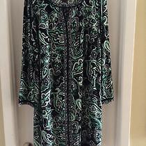 """BEAUTIFUL PAISLEY PRINT DRESS """"INC"""" FROM THE BAY! SIZE 2X West Island Greater Montréal image 1"""