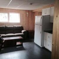 1 bdrm country residential basement suite