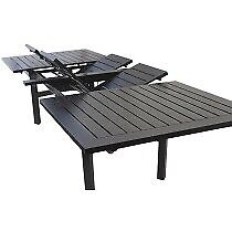 Extension patio table 4-14 people