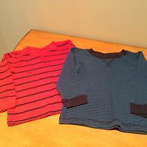 Striped long sleeve tees (CIRCO) like NEW! 18 months