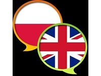 Exchange my Polish language for you English.