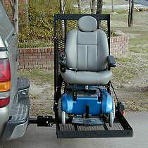 wheel chair or scooter carrier