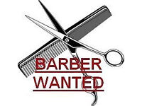 Barber wanted.££££