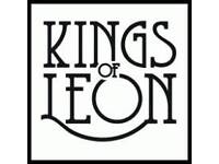 1 Kings of leon standing ticket. now £30 Saturday