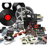 DVD transfers from Beta~Mini Audio Tapes~Picture Slides