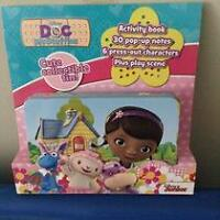 Doc Mcstuffins Activity Set...BRAND NEW!!!