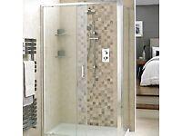 1200 sliding shower door