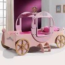 Princess carriage bed used