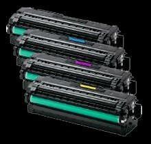 Samsung CLT-505L Combo Set Toner Cartridge,High Yield B/C/M/Y