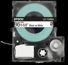 EPSON LC-7WBN, Compatible Label Tape 8MM